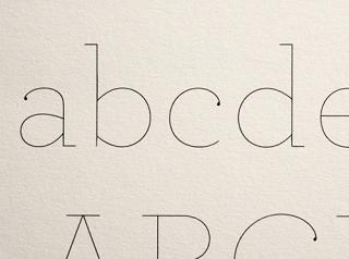 archer-hairline-font