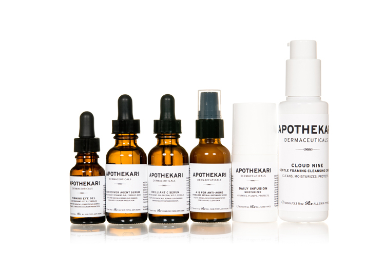 Apothekari Natural Skin Care Line