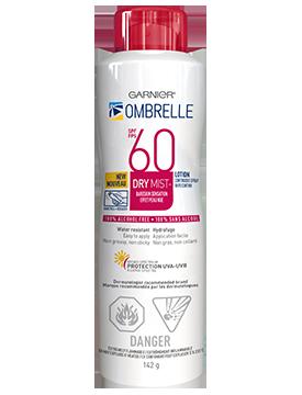 Ombrelle Complete Dry Mist Spray SPF 60