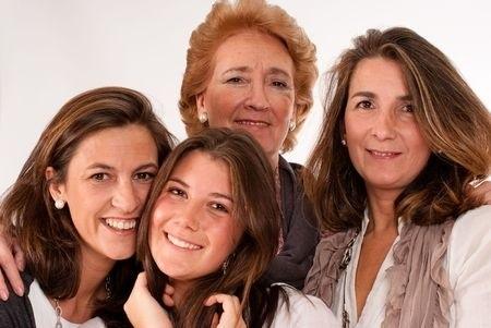 4 generation women