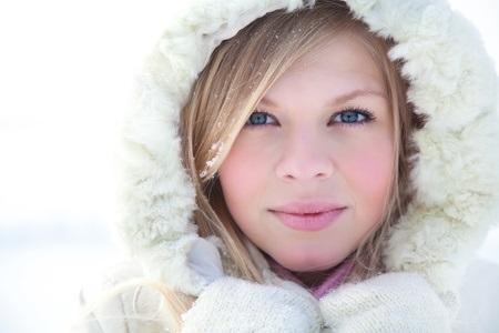 snowy blond