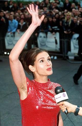 Julia-Roberts-Hairy-armpits