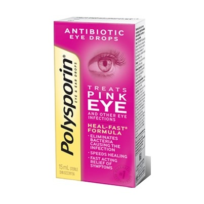Polysporin Pink Eye