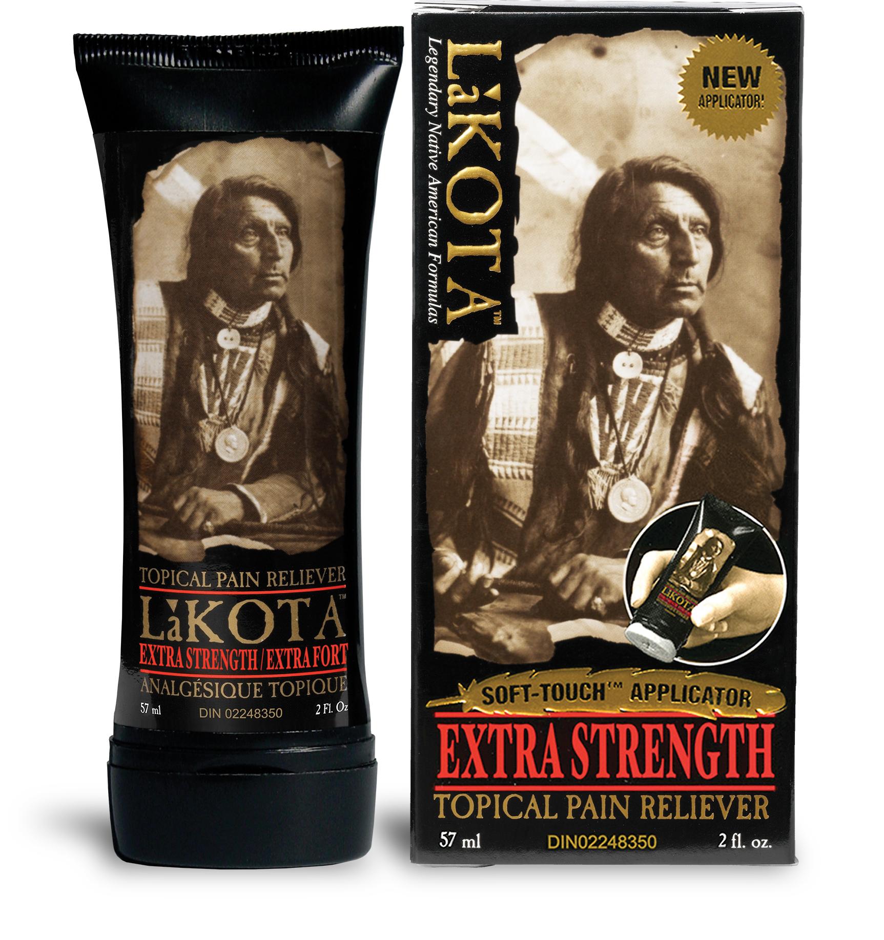 Lakota Xs Pain Relief Soft Touch Applicator 57ml 1 9oz