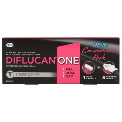 Diflucan One Convenience Pack Fluconazole 150 mg