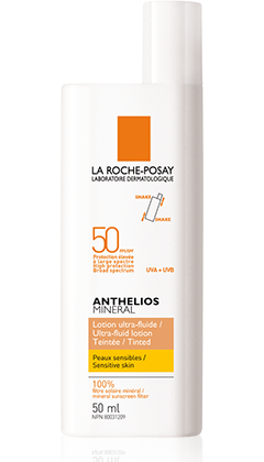 Anthelios Mineral Ultra-Fluid Lotion SPF 50 Tinted