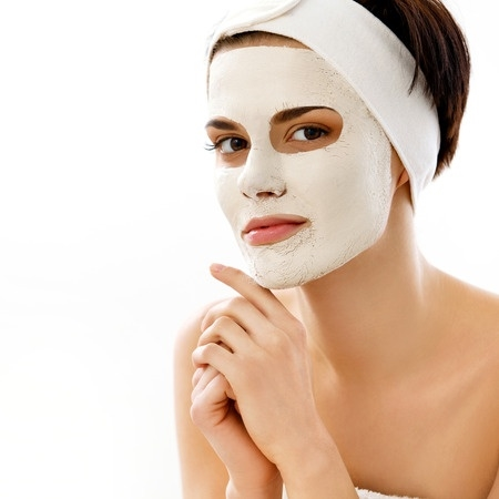 Skin Care Trends for 2017: Woman with a beauty face mask
