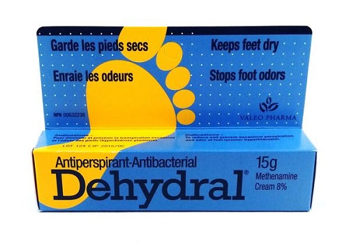 Dehydral Antiperspirant-Antibacterial Cream 8% Methenamine
