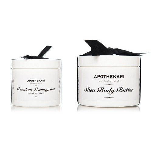 Apothekari Shea Body Butter Bamboo Polish Set