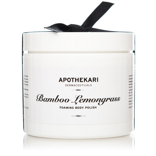 Apothekari Bamboo Lemongrass Foaming Body Polish