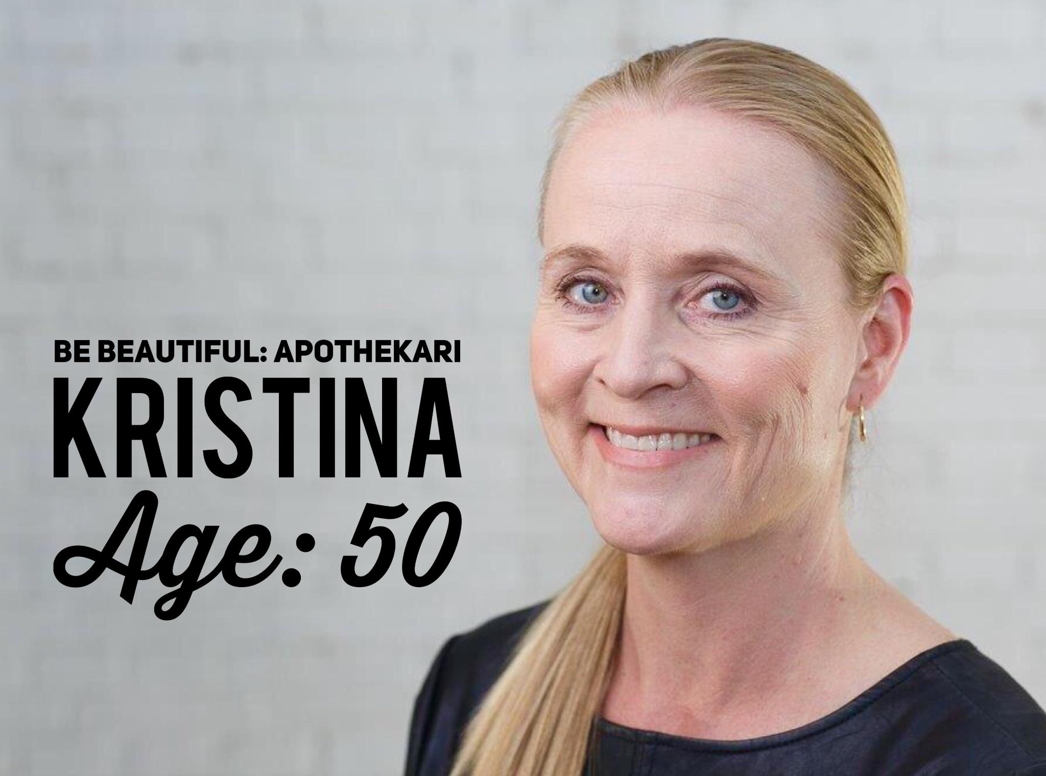 August's Be Beautiful Apothekari: Kristina