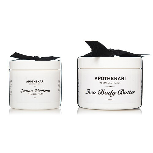Apothekari Shea Body Butter & Lemon Verbena Polish Set
