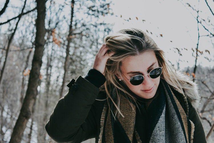 Winter Hair unsplash