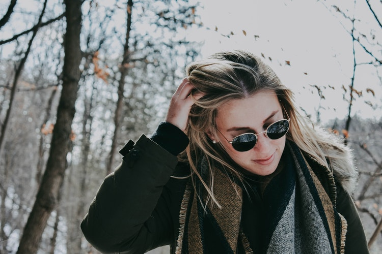 Winter Hair unsplash