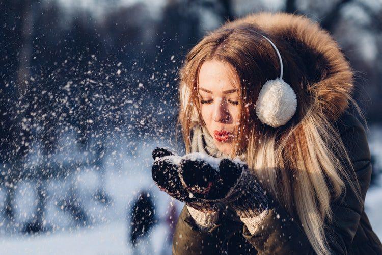 Winter Sun and Snow