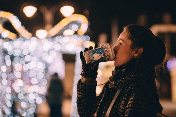 Christmas coffee unsplash