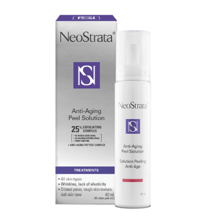 Neostrata Anti Aging And Brightentin Peel Solutions Available At