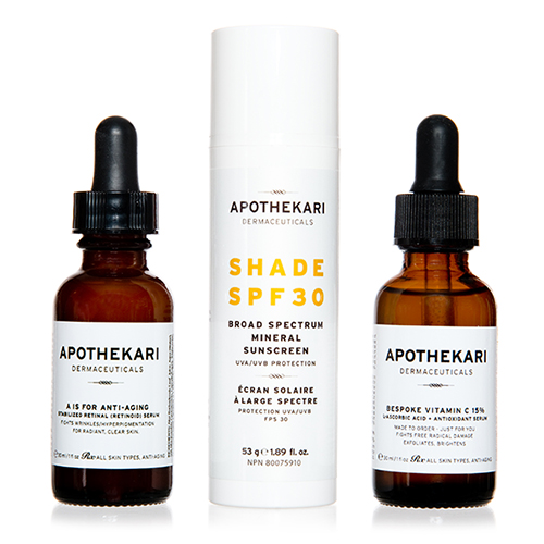 Apothekari Dermaceuticals Aging Skin Products