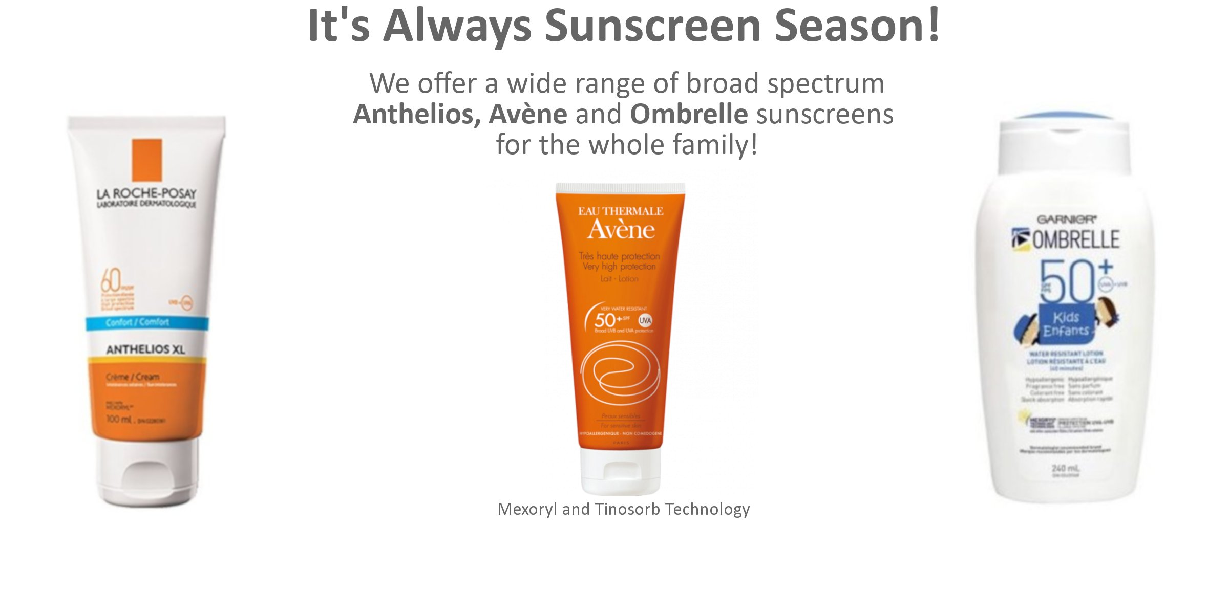 It's Always Sunscreen Season!