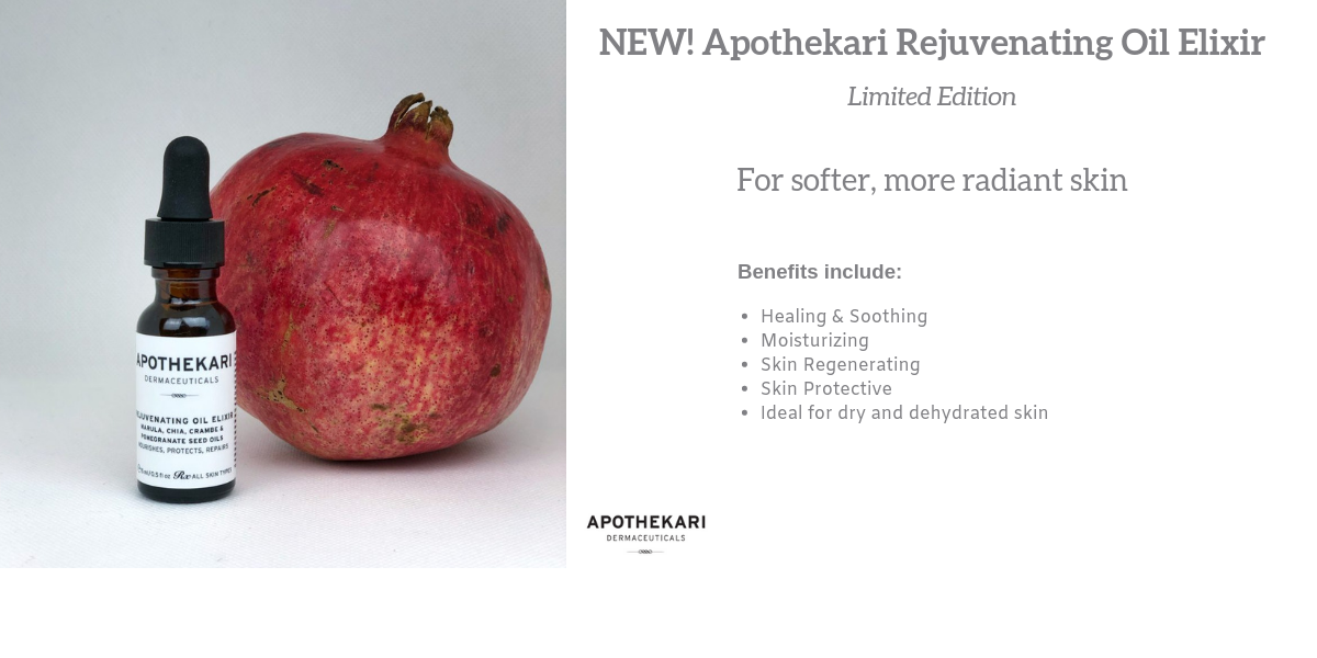 Apothekari Rejuvenating Oil Elixir Slider