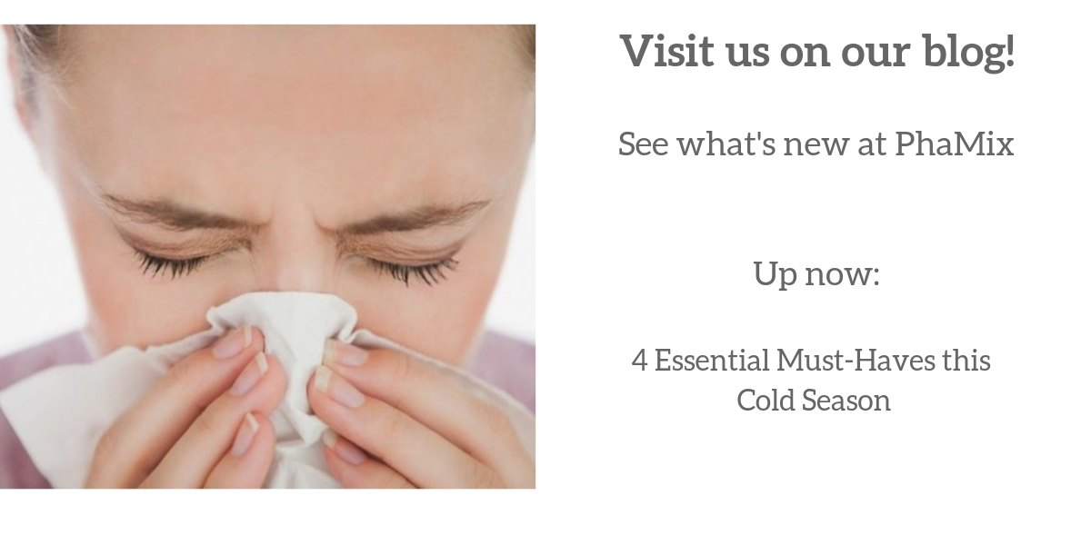 Visit us on our blog! 4 Essential Must-Haves this Cold Season