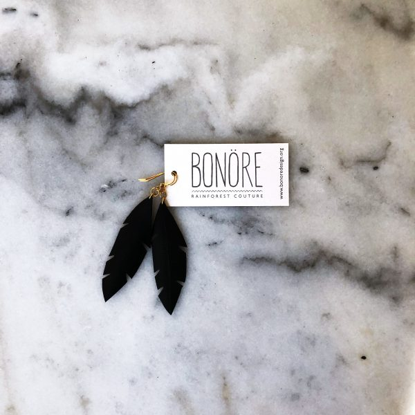Bonore Feather Earrings