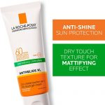 Anthelios XL Dry Touch Gel-Cream SPF 60 with text