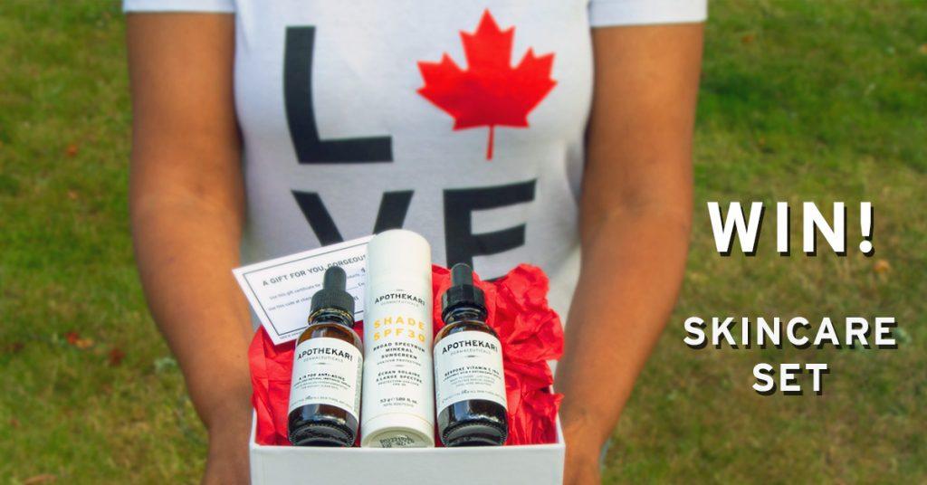 Canada Day Contest Apothekari Skincare Set