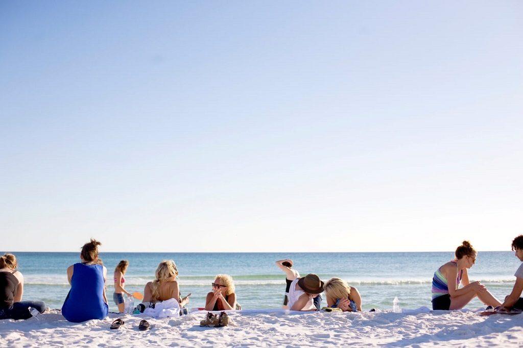 Day at the Beach - Melanom Prevention