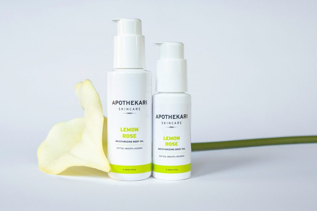 Lemon-Rose-Moisturizing-Body-Oil-Apothekari-Skincare